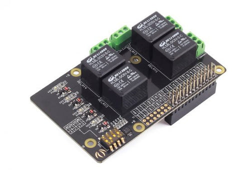 Buy Australia Raspberry Pi Relay Board v1.0 , Expansion - Seeed Studio, Pakronics Melbourne  in Australia - 1