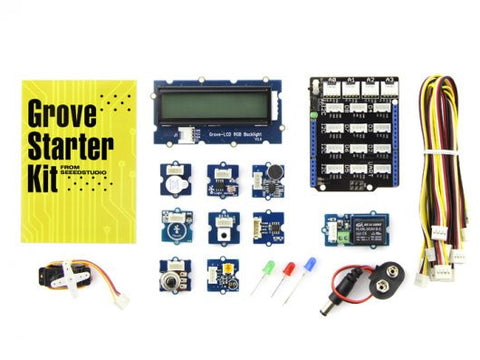 Grove - Starter Kit for Arduino (Without Arduino UNO R3) - Buy - Pakronics®- STEM Educational kit supplier Australia- coding - robotics