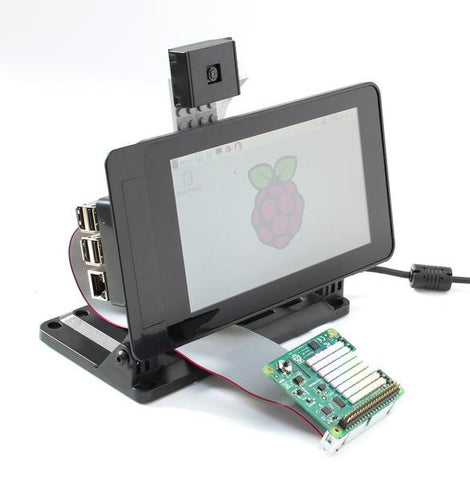 "Smarti Pi Touch stand for Pi Foundation PiTFT - 7"" Touchscreen Display - Buy - Pakronics- Melbourne Sydney Queensland Perth  Australia - Educational kit - coding - robotics"