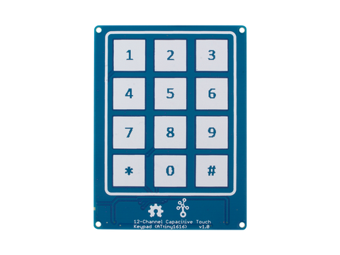 Grove - 12-Channel Capacitive Touch Keypad (ATtiny1616)