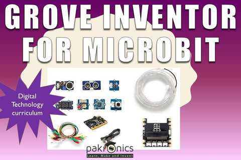 Micro:bit Grove Inventor online course 102 for educator (e-course) - Buy - Pakronics®- STEM Educational kit supplier Australia- coding - robotics