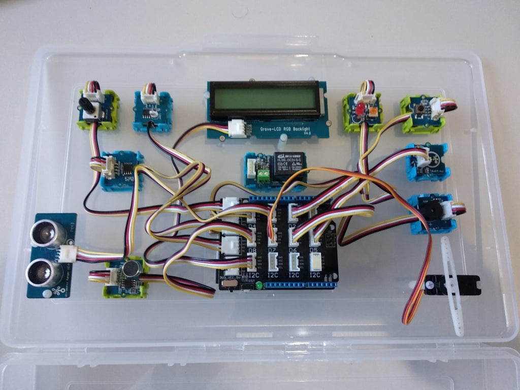 Teacher's Grove kit with Arduino UNO and storage box - Buy - Pakronics®- STEM Educational kit supplier Australia- coding - robotics