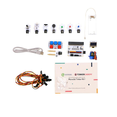 ElecFreaks Micro:bit Tinker Kit (without Micro:bit Board) - Buy - Pakronics®- STEM Educational kit supplier Australia- coding - robotics