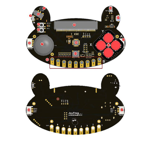 Kittenbot Joyfrog Programmable Interactive Gamepad  for Micro:bit & Meowbit - Buy - Pakronics®- STEM Educational kit supplier Australia- coding - robotics