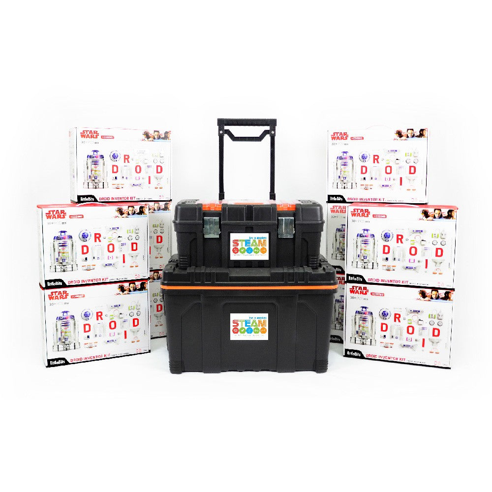 10 x Star Wars littleBits Droid Inventor Kit with Free Storage Kit