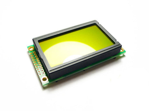 Buy Australia Graphic LCD 128*64 (KS0108 ctrl) - D.Blue and Yellow Green , LCD & OLED - Seeed Studio, Pakronics Melbourne  in Australia - 1