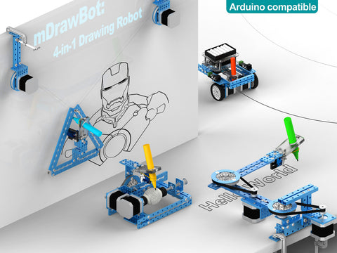 Buy Australia mDrawBot with Laser Kit - Blue , MB_Robot Kits - MakeBlock, Pakronics Melbourne  in Australia - 1