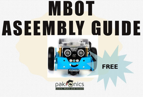 mBot assembly guide (e-course) - Buy - Pakronics®- STEM Educational kit supplier Australia- coding - robotics