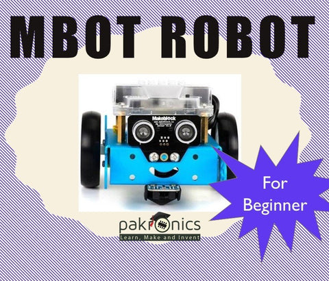 mBot - beginners 101 for DIYers (e-course) - Buy - Pakronics®- STEM Educational kit supplier Australia- coding - robotics