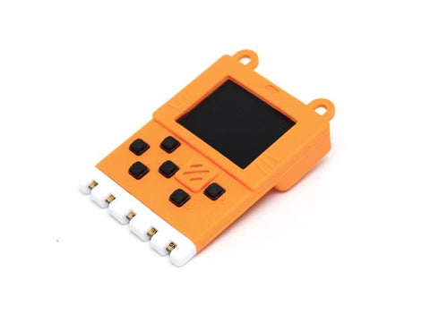 Kittenbot Meowbit - Card-sized Graphical Retro Game Computer - Orange (without battery) - Buy - Pakronics®- STEM Educational kit supplier Australia- coding - robotics