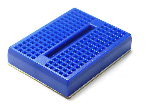 Mini Bread board 4.5x3.5CM-Blue - Buy - Pakronics®- STEM Educational kit supplier Australia- coding - robotics