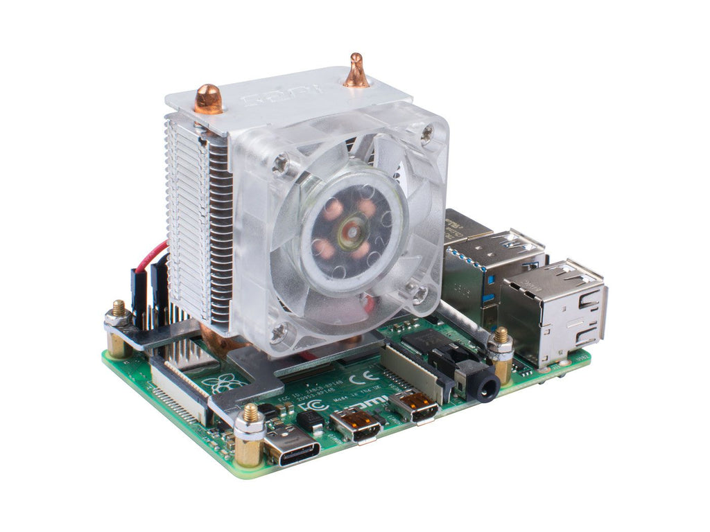 Blink Blink ICE Tower CPU Cooling Fan for Raspberry Pi (Support Pi 4)