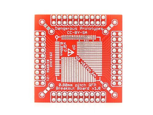 Buy Australia xQFP breakout board - 0.8mm , Protoboards - Seeed Studio, Pakronics Melbourne  in Australia - 1