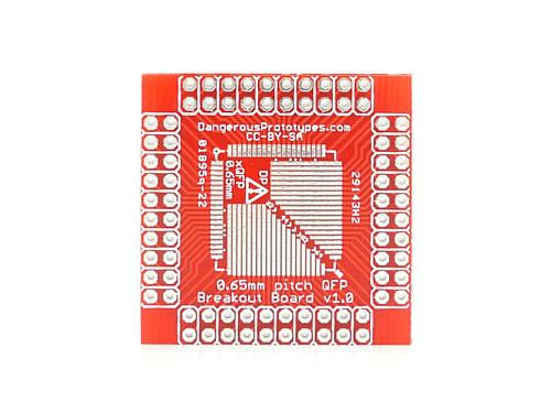 Buy Australia xQFP breakout board - 0.65mm , Protoboards - Seeed Studio, Pakronics Melbourne  in Australia - 1