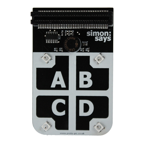Simon:Says for micro:bit - Buy - Pakronics- Melbourne Sydney Queensland Perth  Australia - Educational kit - coding - robotics