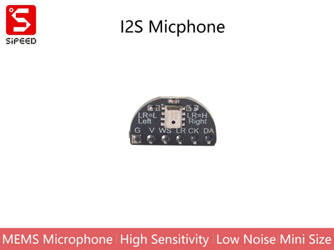 Sipeed I2S Microphone for MAIX Dev. Boards - Buy - Pakronics®- STEM Educational kit supplier Australia- coding - robotics