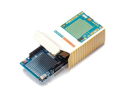 Arduino Education Shield - Buy - Pakronics®- STEM Educational kit supplier Australia- coding - robotics