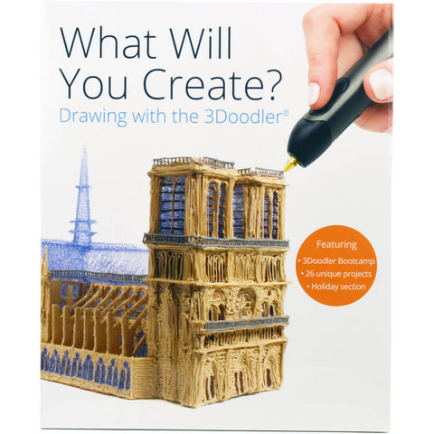 "3Doodler ""What Will You Create?®\"" Project Book - Buy - Pakronics®- STEM Educational kit supplier Australia- coding - robotics"