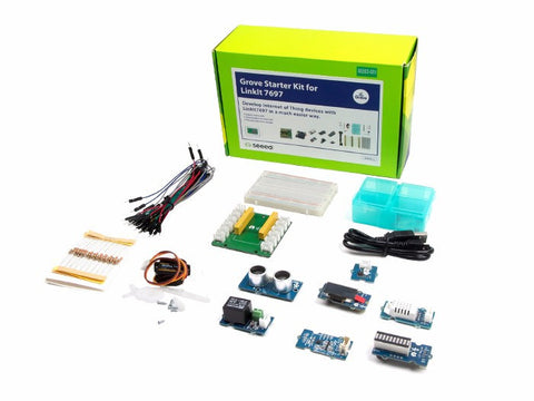 Grove Starter Kit for LinkIt 7697 - Buy - Pakronics®- STEM Educational kit supplier Australia- coding - robotics