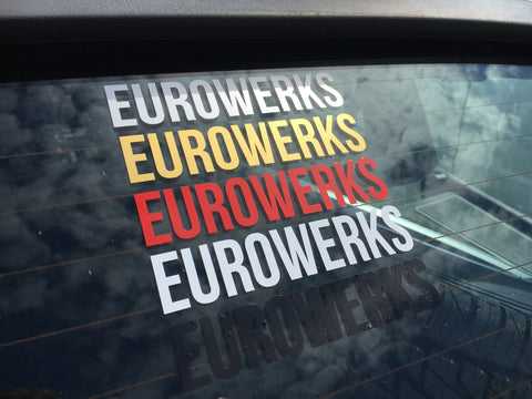 Eurowerks Font Stickers