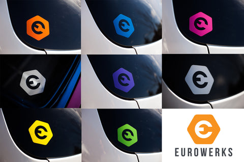 Eurowerks Hex Badge Sticker