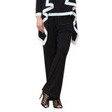 IC Collection Pull-on Stretch Knit Pant in Black - 1932P-BLK
