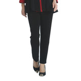 IC Collection Straight Leg Pull-On Pant in Black - 2909P - Size S Only