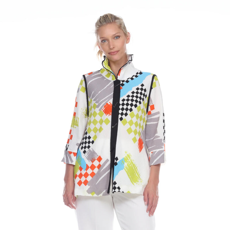 Moonlight by Y&S Colorful Blouse/Jacket - 3075/2849
