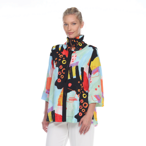 Moonlight by Y&S Colorful Blouse/Jacket - 3075 AB