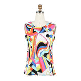 Damee NY Abstract Print Twin Set in Multicolor - 32168  - Size S Only