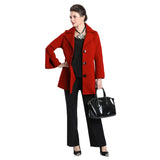 IC Collection Button Front Jacket in Red - 3304J-RD