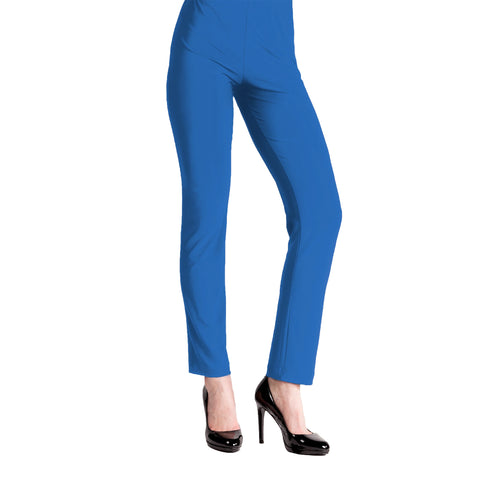 Clara Sunwoo Straight Leg Pant in Dazzling Blue - 3PT-BL - Size S Only