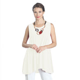 IC Collection Extender Length Tank in Ivory - 6822T-IV