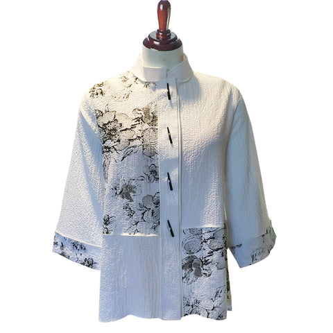 Moonlight Blouse / Jacket in White 7170-WHT
