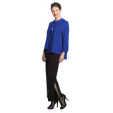 IC Collection Solid Asymmetric Jacket in Blue - 9173J-BL- Size S, M Available