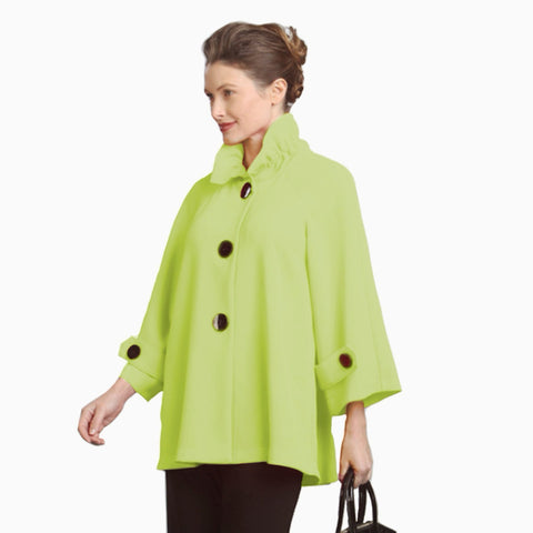 IC Collection Designer Jacket in Lime - 9948J-LIME