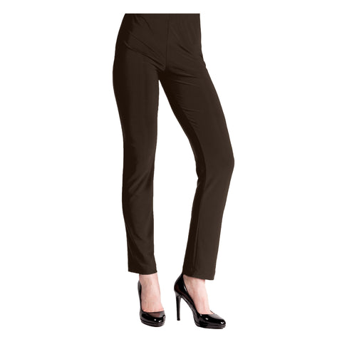 Clara Sunwoo Straight Leg Pant in Brown - 3PT-BRN