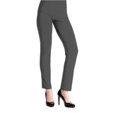 Clara Sunwoo Signature Straight Leg Pant in Charcoal - 3PT-CHR