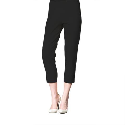Clara Sunwoo Straight Leg Capri Pants in Black - CP2-BLK