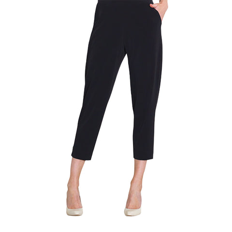 Clara Sunwoo Jogger Pocket Capri in Black - CPB20-BLK