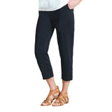Clara Sunwoo Techno-Stretch Jogger Capri in Black - CPB20C-BLK - Size M Only