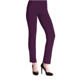 Clara Sunwoo Straight Leg Pant in Eggplant - 3PT-EGG - Sizes XS & 1X Only