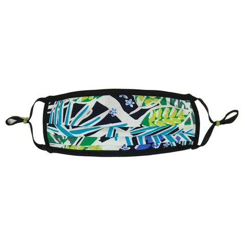 Style-Rite Adjustable Tropical Print Adjustable Mask - M-TROP