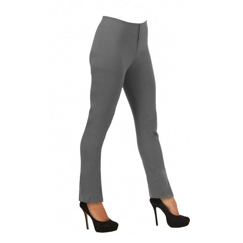 "Lior Paris ""Lize"" 29&1/2"" Straight Leg Pant in Anthracite"