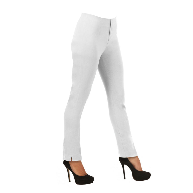 "Lior Paris ""Lize"" Straight Leg Pull-On Pant in White - Lize-WHT"