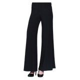 Clara Sunwoo Soft Stretch Knit Palazzo Pant in Black - LPT-BLK