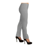 "Lior Paris ""Lize"" Straight Leg Pull-On Pant in Pearl - LIZE-PRL"