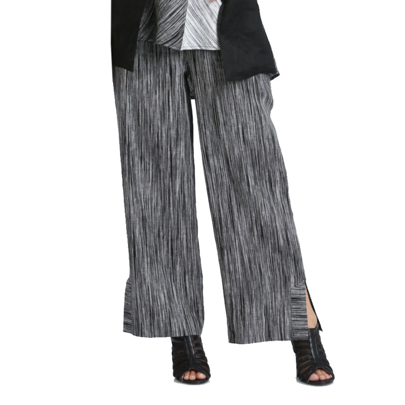 IC Collection Striped Wide-Leg Pant - 2349P