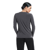 Clara Sunwoo Basic Top in Charcoal - T28-CHAR - Sizes XS & S Only