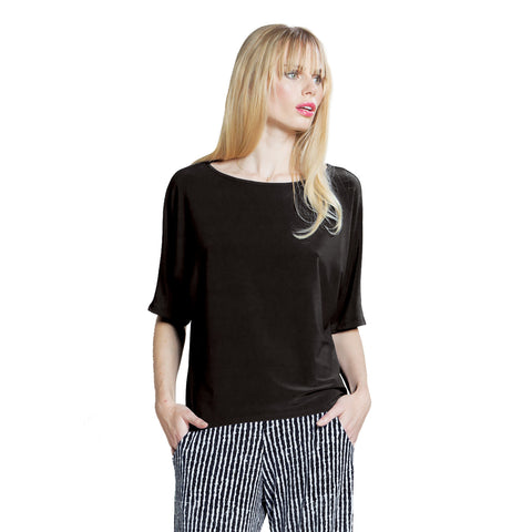 Clara Sunwoo Top in Black T121-BLK